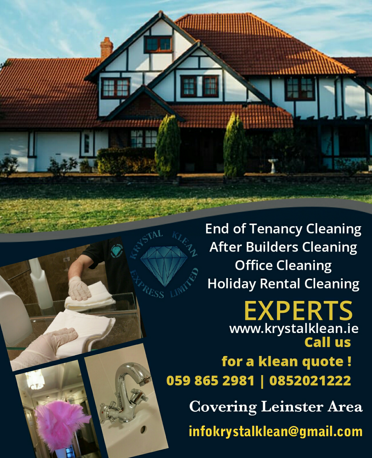 House Cleaning End Tenancy Cleaning Rathgar
