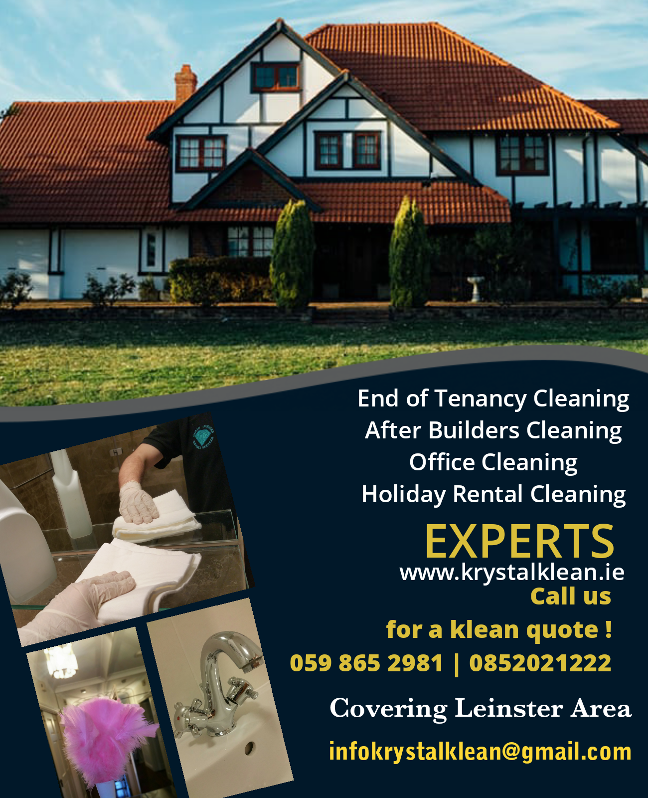 End of Tenancy Cleaning Ballsbridge